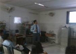 Dr Rana Training Residents at PGI Rohtak on 27th March 2011