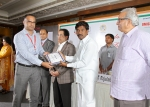 Dr. Rana Awarded by Telangana State Health Minister