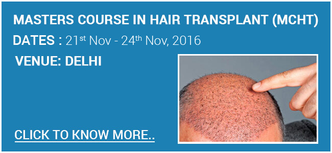 MASTERS COURSE IN HAIR TRANSPLANT
